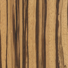 Zebrawood - Striped Hardwood from Africa